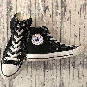 CONVERSE ALL-STAR Black Hi-Tops size 6.5